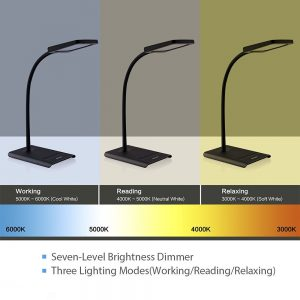 Discover the best desk lamps to use best rated led lamp trond halo 10w dimmable led desk lamp aloadofball Choice Image