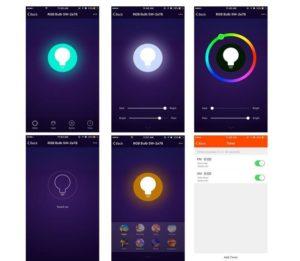 EOSAGA Smart LED Bulb WiFi