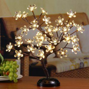 led light flowers