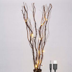 light up artificial flowers