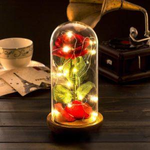 rose flower lamp