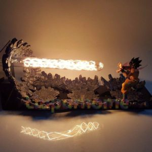 dragon ball z goku lamp