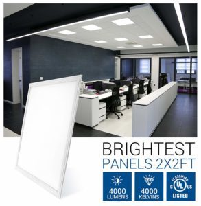 led ceiling light panels